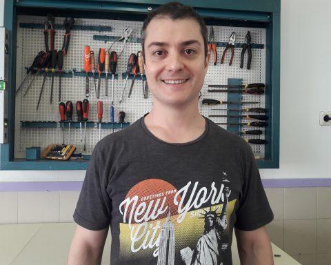 Óscar Mascaró, tutor de tercer d'ESO