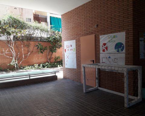 Pati de l'escola El Pilar (Premià de Mar)